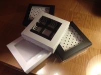 קופסאות מהודרות לעוגיות ופרלינים