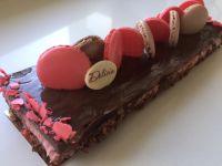 פס קרנצ'י עםמוס שוקולד ותותים