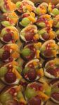 טארטלט שוקולד עם פטיסייר ופירות