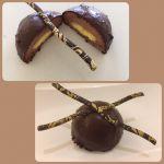 """""""בומב"""" שוקולד עם טעימת לימון"""