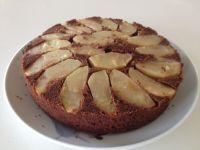 עוגת שוקולד ותפוחים הפוחה